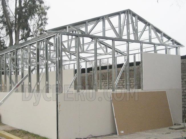 Dyc per aulas en drywall aulas prefabricadas en drywall for Techos en drywall para casas