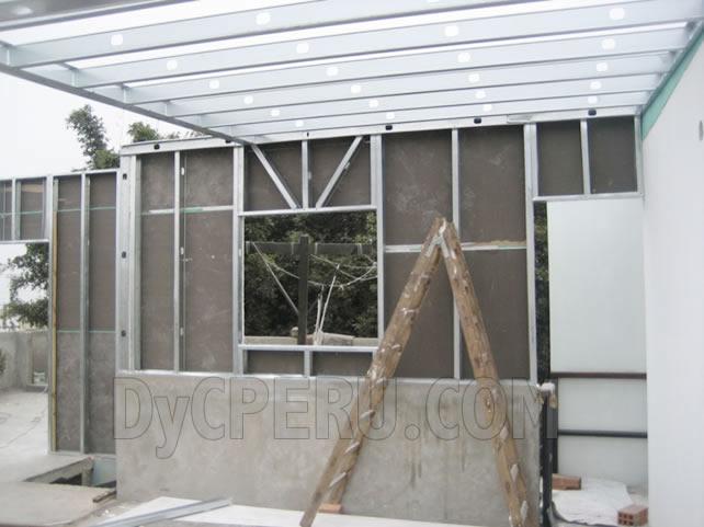 Dyc per tabiquer as en drywall cielos rasos techos for Techos en drywall para habitaciones